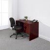 Global Total Office Genoa Single Pedestal Computer Desk
