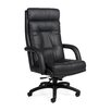 Global Total Office Arturo Executive High-Back Pneumatic Tilter Leather Executive Chair with Arms