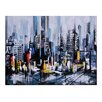 Ren-Wil Metro Heights by Ksenia Sizaya Painting Print on Wrapped Canvas