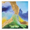 Ren-Wil Blue Canyon by Patrick Painting Print on Wrapped Canvas