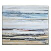 Ren-Wil Desert Road by Lecavalier Framed Painting Print on Wrapped Canvas