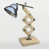 """Ren-Wil Curie 19"""" H Table Lamp with Bell Shade"""