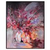 Ren-Wil 'Thistle Rose' Framed Painting Print on Canvas