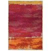 Pantone Universe Expressions Abstract Red Area Rug