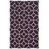 Pantone Universe Matrix Black Geometric Rug