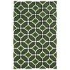 Pantone Universe Matrix Green Geometric Rug