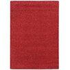 Pantone Universe Focus Red Shag Area Rug