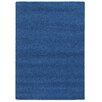 Pantone Universe Focus Blue Shag Area Rug