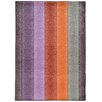 Pantone Universe Prismatic Geometric Purple & Orange Area Rug