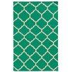 Pantone Universe Matrix Geometric Green Rug I