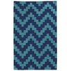 Pantone Universe Matrix Blue Geometric Rug
