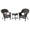 Jeco Inc. 3 Piece Lounge Seating Group