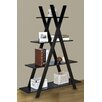 "Jeco Inc. 59"" Accent Shelves Bookcase"