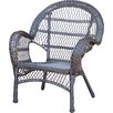 Jeco Inc. Wicker Armchair Chair (Set of 2)