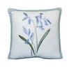 Nostalgia Home Fashions Josephine Flowers Cotton Throw Pillow