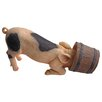 Design Toscano Pig Head in Bucket Figurine