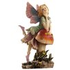Design Toscano Statue Fairy Dust Twins Mushroom