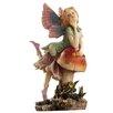 Design Toscano Statue Fairy Dust Twins Mushroom