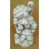Design Toscano Statue Stacked Turtles Piped