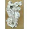 Design Toscano Statue Winged Gargoyle Piped