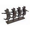 Design Toscano Dancing Pig Chorus Line Statue