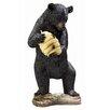 Design Toscano Verrohrte Statue Beehive Bear Spitter