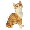 Design Toscano Statue Garden Division Purr-fect Kitten