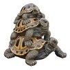Design Toscano Statue Three Stacked Up Turtles
