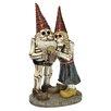 Design Toscano Statue Bones and Brew Skeleton Gnomes