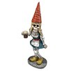 Design Toscano Statue Oktoberfest Gerta Skeleton Gnome