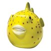 Design Toscano Statue Plump Pufferfish