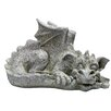 Design Toscano Statue Medium Blushing Babel Dragon