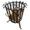 Poppy Forge Garden Brazier in Black
