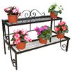 Poppy Forge Pedestal Planter