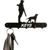 Poppy Forge Gun Down 15cm Key Holder