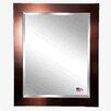 Rayne Mirrors Jovie Jane Shiny Bronze Petite Wall Mirror