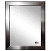 Rayne Mirrors Sleek Silver Wall Mirror