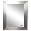 Rayne Mirrors Ava Modern Stainless Wall Mirror