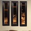 Rayne Mirrors Molly Dawn Brown Lining Mirror Panel
