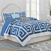 Jill Rosenwald Home Greek Key Reversible Quilt