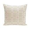 e by design Geometric Cotton Throw Pillow