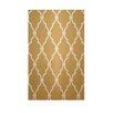 e by design Geometric Tan Indoor/Outdoor Area Rug