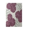 e by design Floral Off White Indoor/Outdoor Area Rug
