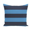 e by design Awning Stripes Print Outdoor Pillow