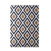 e by design Geometric Brown Indoor/Outdoor Area Rug