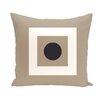 e by design Coastal Calm Geometric Throw Pillow