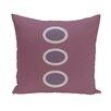 e by design Flower Power Geometric Throw Pillow
