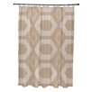 e by design Moroccan Medley Geometric Shower Curtain