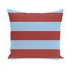 e by design Coastal Calm Stripe Throw Pillow