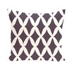 e by design Subline Geometric Throw Pillow